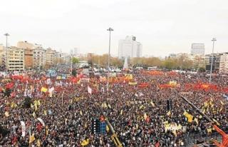 İSTANBUL VALİLİĞİ, TAKSİM'DE 1 MAYIS KUTLAMASIYLA...