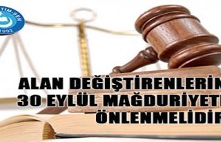 ALAN DEĞİŞTİREN ÖĞRETMENLERİN 30 EYLÜL MAĞDURİYETİ...