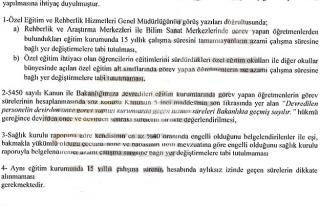 MEB'DEN ROTASYONA TABİ ÖĞRETMENLER İÇİN ÖNEMLİ...