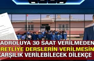 KADROLUYA 30 SAAT VERİLMEDEN ÜCRETLİYE DERSLERİN...