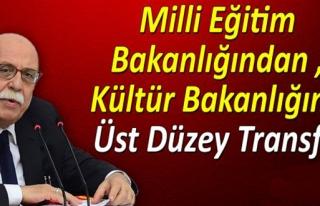 MİLLİ EĞİTİM BAKANLIĞI'NDAN KÜLTÜR BAKANLIĞINA...