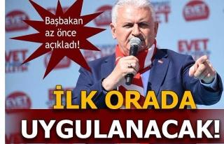 BAŞBAKAN AÇIKLADI! TEKLİ EĞİTİM İLK ÖNCE AYDIN'DA...