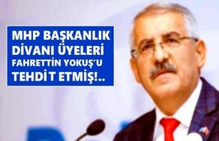 FAHRETTİN YOKUŞ MHP Lİ MİLLETVEKİLLERİ HAKKINDA...