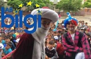 Bin 400 ilkokul öğrencisi Avrupa Çocuk Şenliğinde