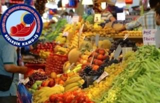 Birleşik Kamu-İş'ten enflasyon araştırması