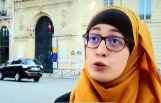 Fransız siyasetçiden başörtülü sendika başkanı...