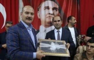 İçişleri Bakanı Süleyman Soylu  Silopi'de