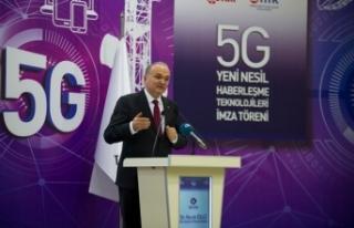 5G yeni nesil haberleşme teknolojileri için imzalar...