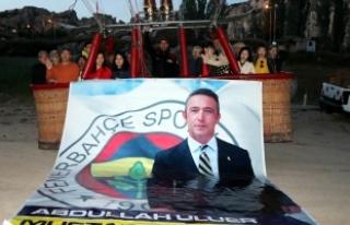 Ali Koç'un Fenerbahçe başkanlığı Kapadokya'da...