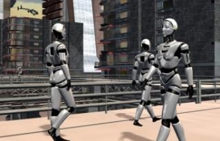 Robotlar, İnsanlara Karşı Karşıya Mücadele Vermesi...