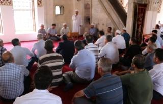 15 Temmuz Şehitleri İçin Anadolu'nun İlk Camisinde...