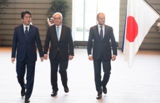 AB ve Japonya'nın Serbest Ticaret Anlaşması...