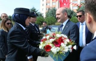 Bakan Soylu: Polis Akademisi Öğrencilerin Mezuniyet...