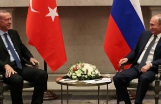 Cumhurbaşkanı Erdoğan'dan Putin'e Aramızdaki...