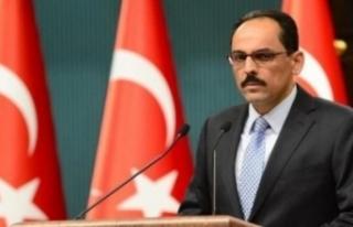 Cumhurbaşkanlığı Sözcüsü İbrahim Kalın, Yeni...