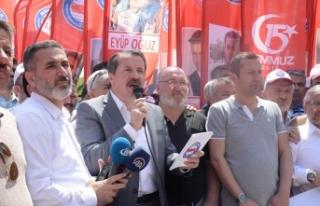 Memur-Sen, Destansı Direnişin Yıldönümünde İstanbul...