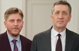 Milli Eğitim Bakanı Ziya Selçuk'u Ziyaret...