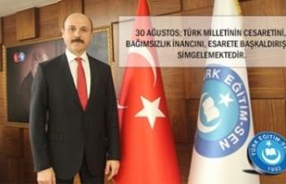 30 Ağustos; Türk Milletinin Esarete Başkaldırışını...