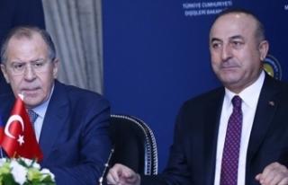 Çavuşoğlu İle Lavrov'dan Ortak Basın Toplantısı...