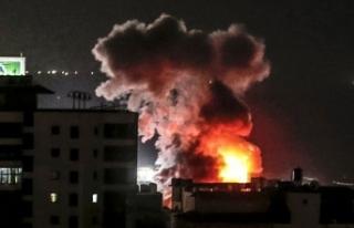 İsrail, Gazze'ye Hava Saldırısı Düzenledi!...
