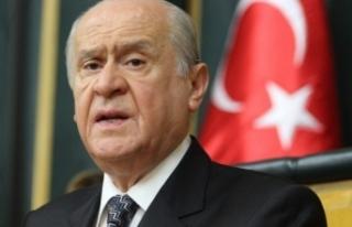 MHP Genel Başkanı Devlet Bahçeli'den Sert Açıklamalar!...