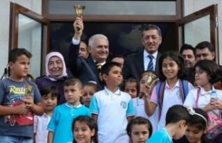 Meclis Başkanı Yıldırım: İlk Ders Zilini Çaldı