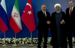 Üçlü Tahran Zirvesi Başladı