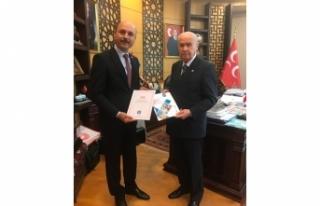 Genel Başkan Talip Geylan, MHP Lideri Devlet Bahçeli'ye...