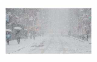 Meteoroloji Tarih Verdi: O Bölgelere Kar Geliyor