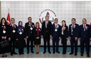 Bakan Selçuk, 81 İlden Gelen Öğretmenleri Kabul...