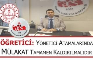 Öğretici: Yönetici Atamalarında Mülakat Tamamen...
