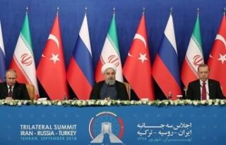 Erdoğan, Putin ve Ruhani'nin Katılımıyla...