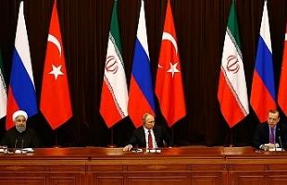Türkiye, Rusya ve İran Liderleri, Suriye Gündemiyle...