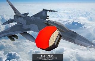 Aselsan F-16'ların Radar Modernizasyonu Yapacak
