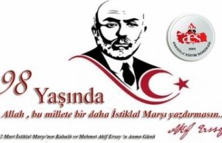 İstiklal Marşı'mızın Kabulünün 98. Yılı...