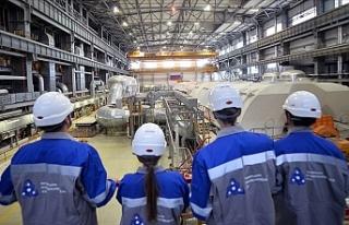 Türk Öğrencilere Rusya'da Nükleer Enerji...