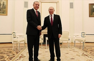 Cumhurbaşkanı Erdoğan İle Rusya Devlet Başkanı...