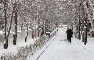 Doğu Anadolu Bölgesi'nde Karla Karışık Yağmur...