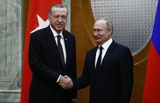 Erdoğan ve Putin Suriye S-400 Gündemiyle Bir Araya...