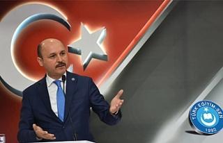 Genel Başkan: Türk Eğitim-Sen Varsa Güven Vardır...