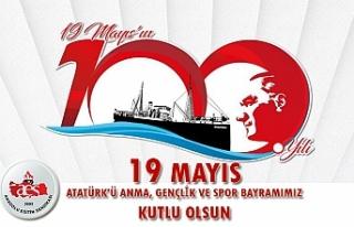 19 Mayıs Atatürk'ü Anma, Gençlik ve Spor...