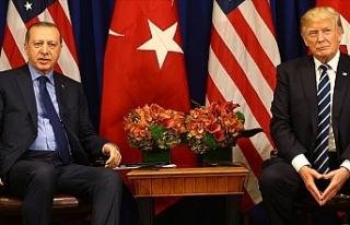 Cumhurbaşkanı Erdoğan İle ABD Başkanı Trump...