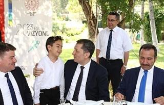 Milli Eğitim Bakanı Ziya Selçuk, Aksaray'da...
