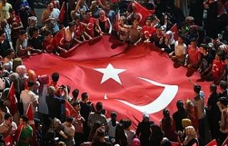 Darbe Girişimin Karşısında Türkiye'nin Yanında...