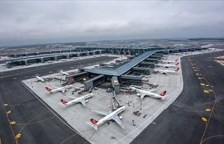 İstanbul Havalimanı'nda 74 Saniyede Bir Sefer...