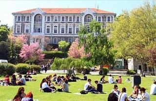 Boğaziçi Üniversitesi Türkiye'den 201-250...