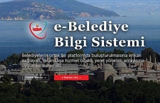 E-Belediye Bilgi Sistemi İle Yıllık 3 Milyar Lira...