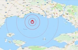 İstanbul'da Şiddetli Deprem Oldu