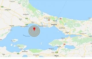 Marmara Denizi'nde Silivri Açıklarında 3,9...