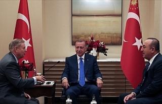 Türkiye Cumhurbaşkanı Erdoğan, ABD Senatörü...